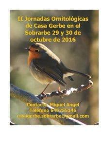 2 jornadas ornitologicas 2016